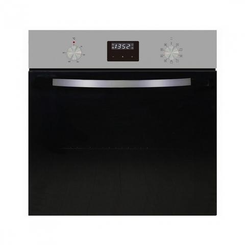 Электрический независимый духовой шкаф Maunfeld EOEM.589 S1 черное стекло