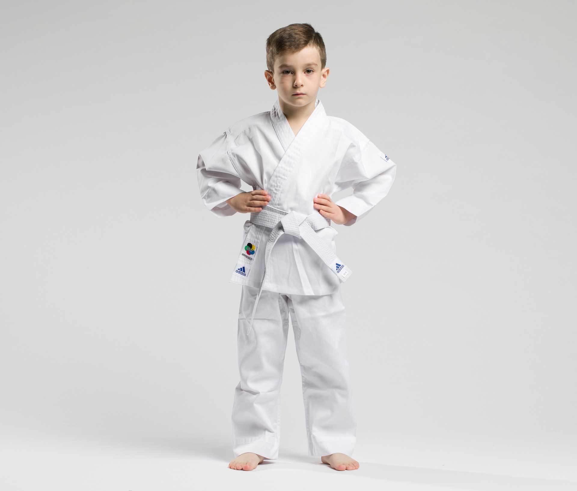 Кимоно КИМОНО ДЛЯ КАРАТЕ ДЕТСКОЕ С ПОЯСОМ KIDS WKF ADIDAS kimono_dlya_karate_podrostkovoe_s_poyasom_kids_wkf_beloe.jpg