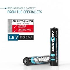 Аккумулятор ААА/NiZN ANSMANN 1.6V 900mWh, 550mAh