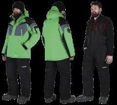 Костюм зимний Alaskan Dakota зеленый/черный раз. XS
