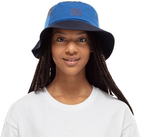 Панама хлопок Buff Sun Bucket Hat Hak Blue фото 2