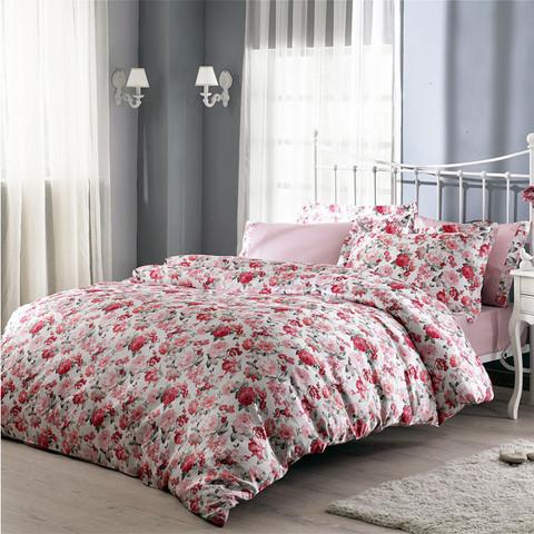 Постельное белье AMERIGO розовый TIVOLYO HOME Турция