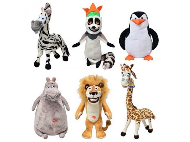 Набор игрушек Мадагаскар 6 шт