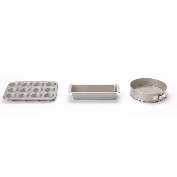 Набор форм для выпечки, антипригарный, 3 предмета, Шампань, арт. 126642 - фото 1