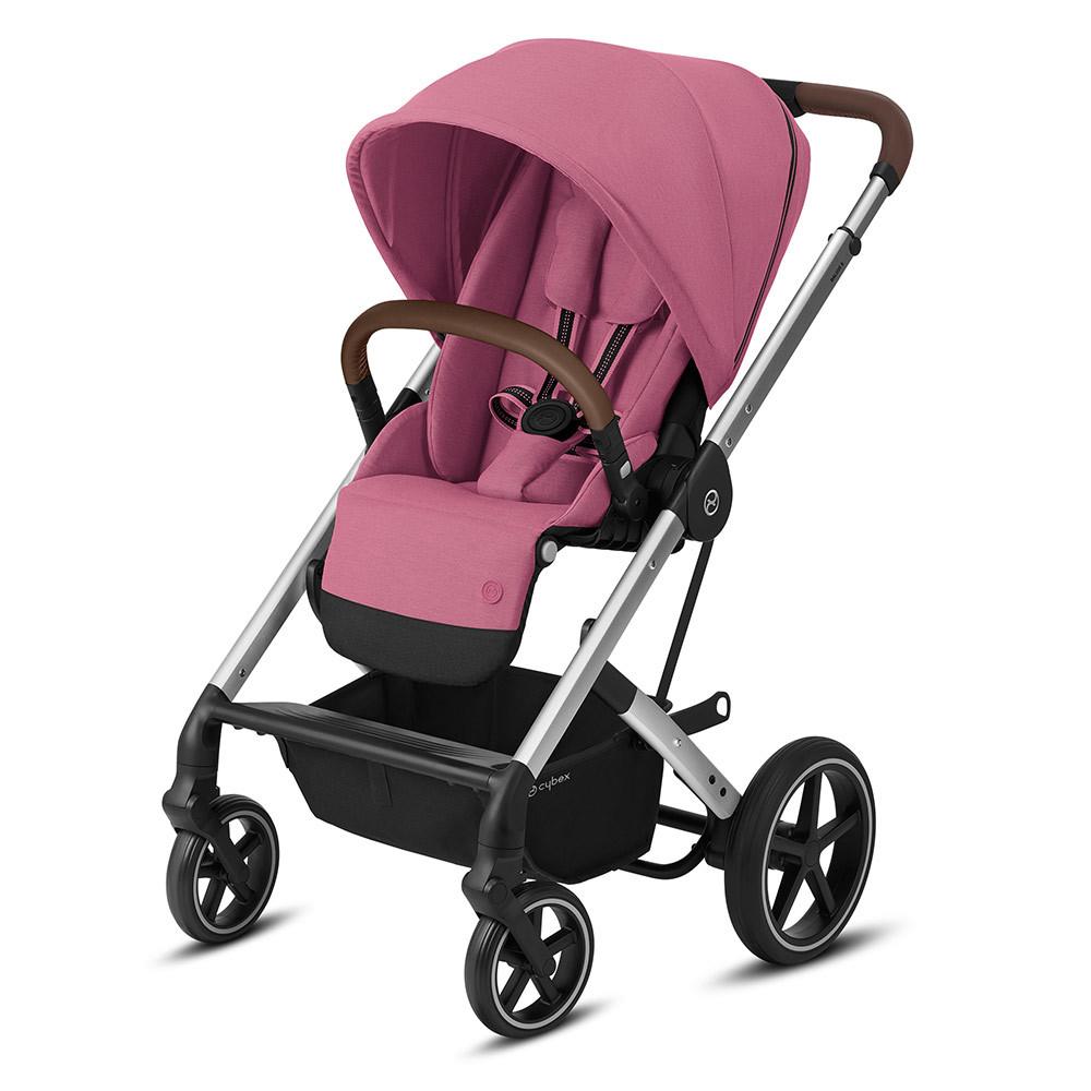 Cybex Balios S прогулочная Прогулочная коляска Cybex Balios S Lux SLV Magnolia Pink 10419_1_106-Balios-S-Lux-silver-Frame-Design-Magnolia-Pink.jpg