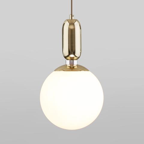 Подвесной светильник со стеклянным плафоном 50197/1 золото