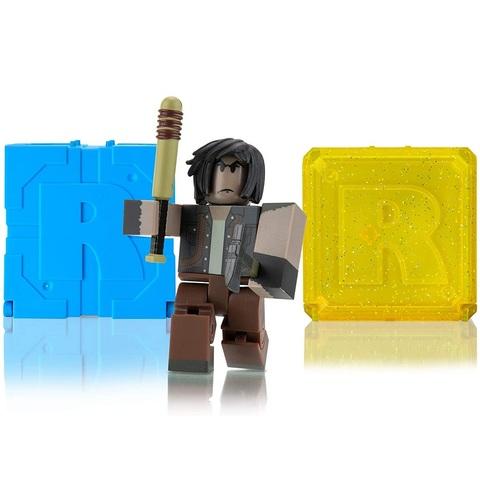 Роблокс Экшн-коллекция Вспышка: Выживший в Пустоши и 2 Кубика Мистери
