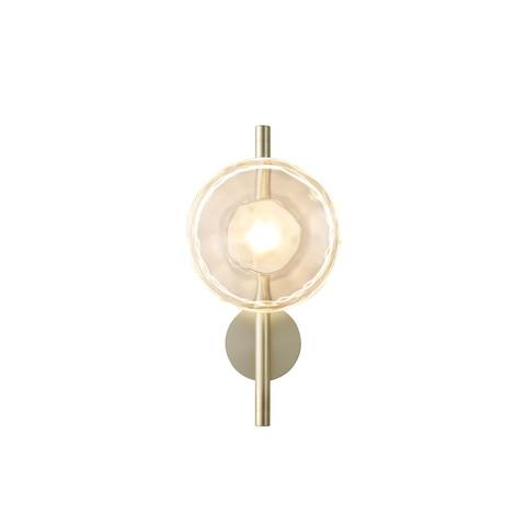 Настенный светильник копия Ceto by Ross Gardam 1 плафон на ножке (золотой)