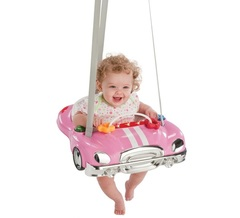 Evenflo Прыгунки Jump & Go™ Розовая машинка (Pink Racer) (60411109)