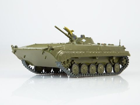 Armored personnel carrier BMP-1 Our Tanks #24 MODIMIO Collections 1:43