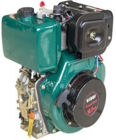 Двигатель дизельный TSS Excalibur 178F-K0 (вал цилиндр под шпонку 25/72.2 / key)