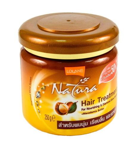 Маска для восстановления и питания волос с маслом макадамии  Lolane, 250мл