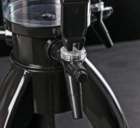 Пивная башня «Ракета», черная, 3 литра