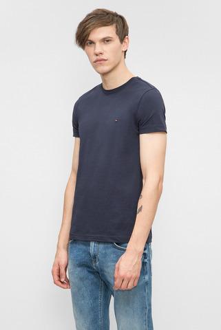Мужская темно-синяя футболка Tommy Hilfiger