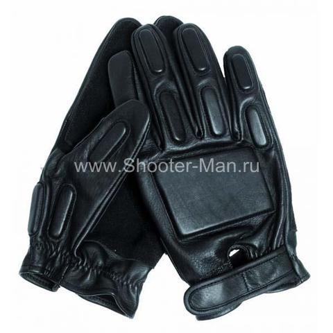 Фото кожаные перчатки тактические стрелковые Miltec by Sturm артикул 12501002 купить по выгодной цене