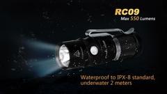 Fenix RC09 550 лм USB + красный светофильтр