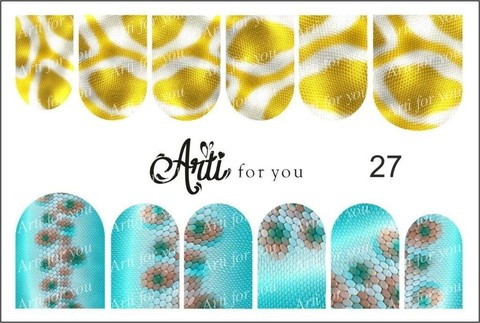 Слайдер Arti for You №27 РА