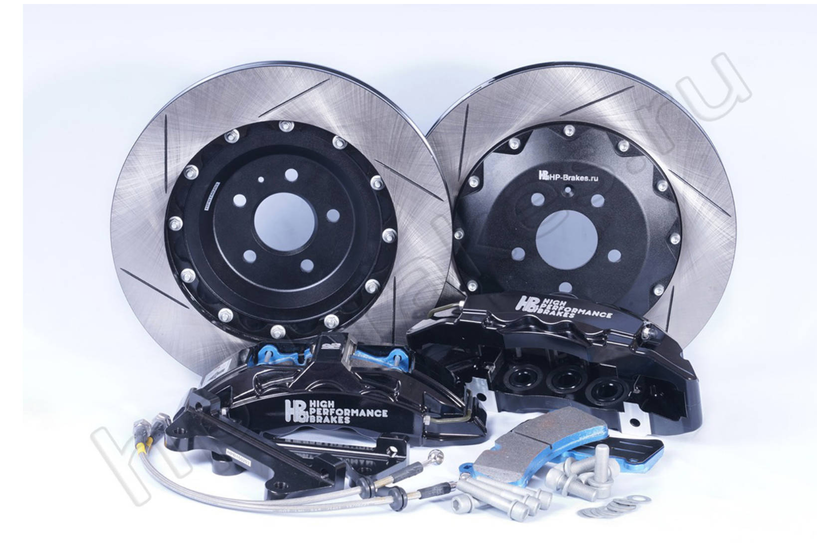 Brake system HP Brakes (Front axle, D19, 6 pistons, disc 380x34mm)