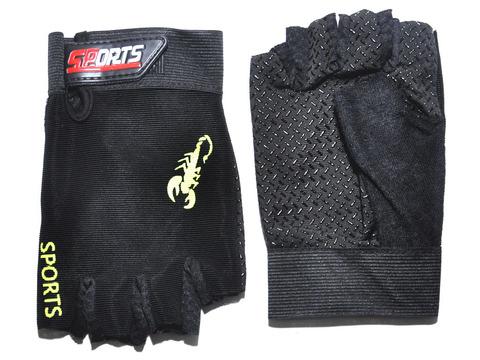 Перчатки для велосипедистов. Материал: синтетическая ткань. JZ-3737
