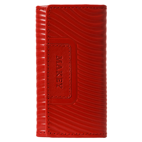 Футляр для ключей «Waves». Цвет красный