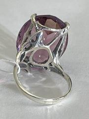 Озеро (кольцо  из серебра)