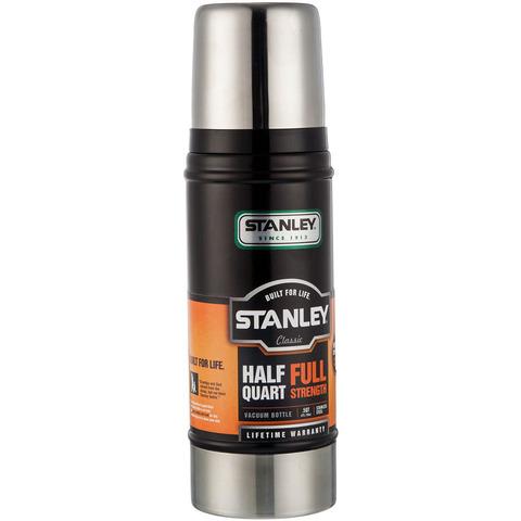 Картинка термос Stanley Classic 0.47L Черный - 1