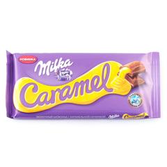 """Шоколад """"Milka"""" молочный с карамельной начинкой, 90 г"""