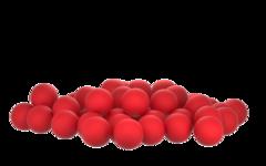Бойлы насадочные плавающие Sonik Baits MACKEREL Fluo Pop-ups 11мм 50мл (Макрель)
