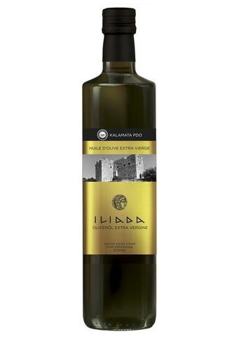 Оливковое масло первого холодного отжима Iliada PDO Kalamata Греция 500 мл