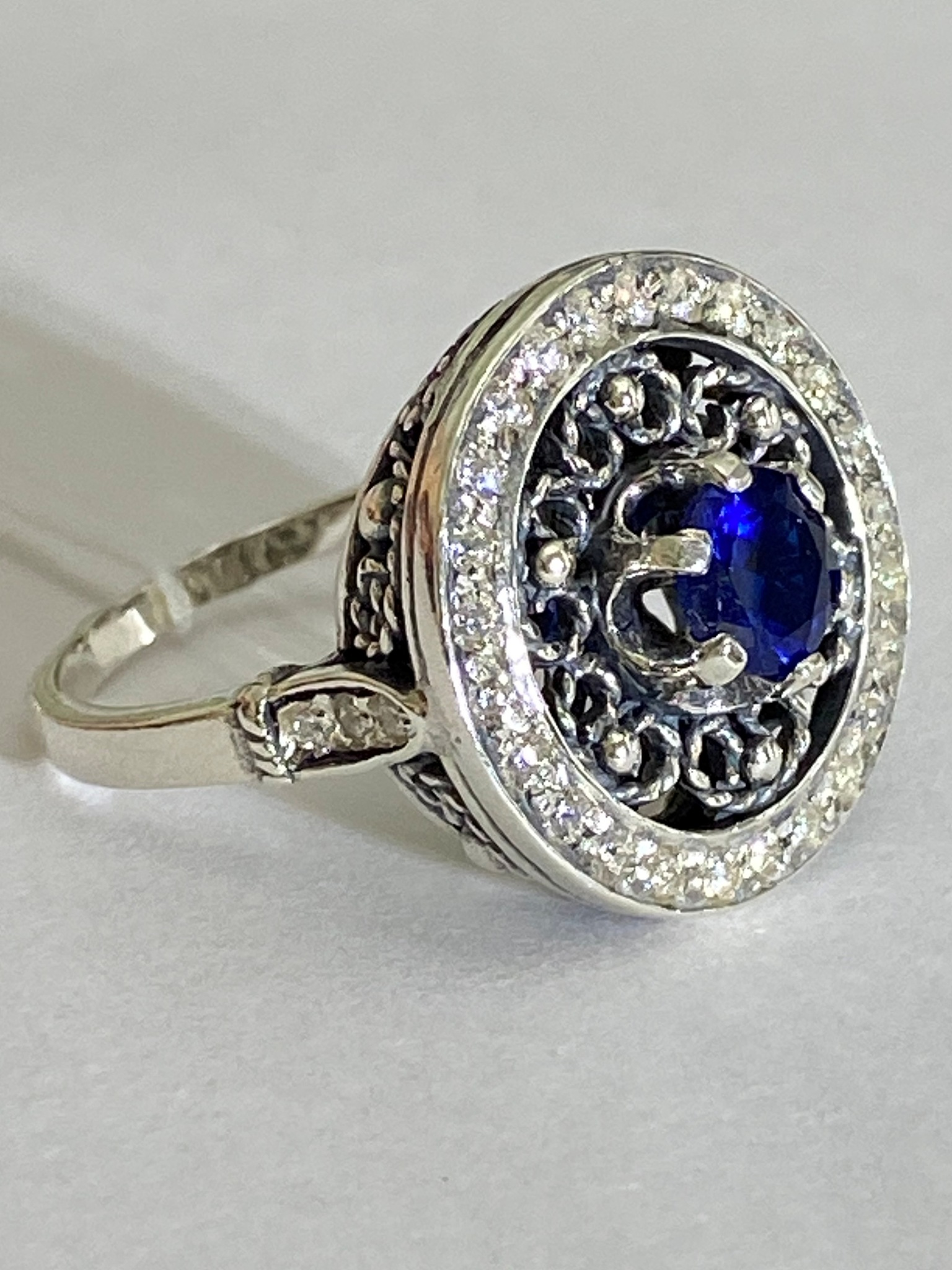 Ришелье (кольцо из серебра)