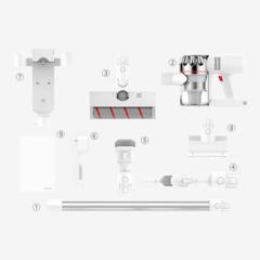 Пылесос Xiaomi Dreame V9P (Global), белый