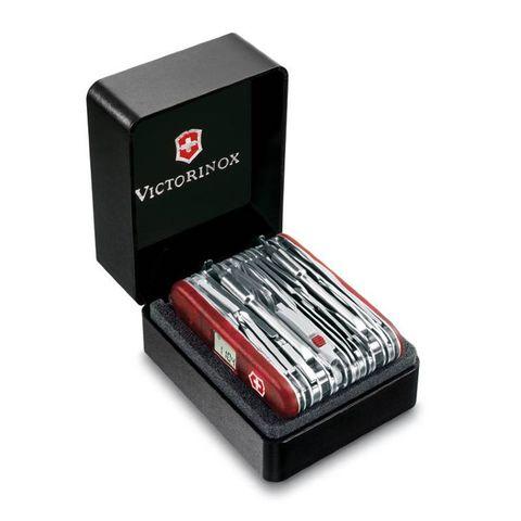Нож перочинный Victorinox SwissChamp XAVT (1.6795.XAVT) 91мм 81функций красный подар.коробка
