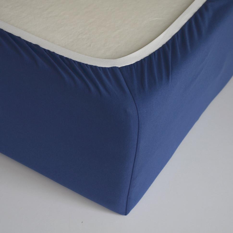TUTTI FRUTTI черника - Полутораспальная простыня на резинке