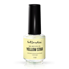 In'Garden, Сухое масло для ногтей и кутикулы с блестками, Yellow star, 11 мл
