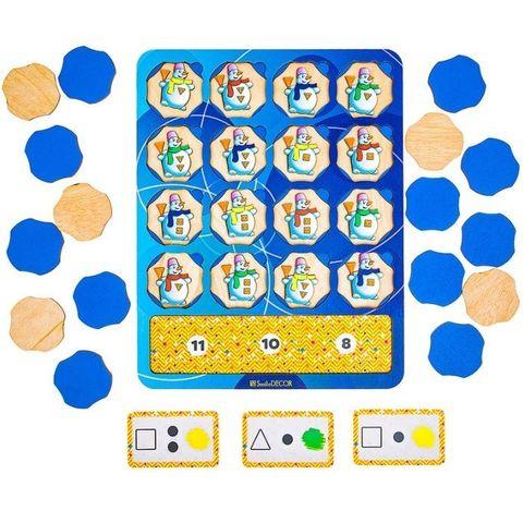 Логическая игра Снеговики, Smile Decor П831