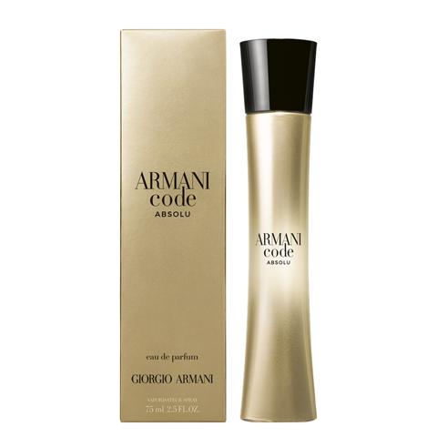 Giorgio Armani: Code Absolu Woman женская парфюмерная вода edp, 30мл/50мл/75мл