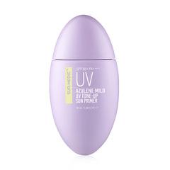 Успокаивающий солнцезащитный крем-праймер с гвайазуленом, 50 мл / Sur.Medic Azulene Mild UV Tone-Up Sun Primer