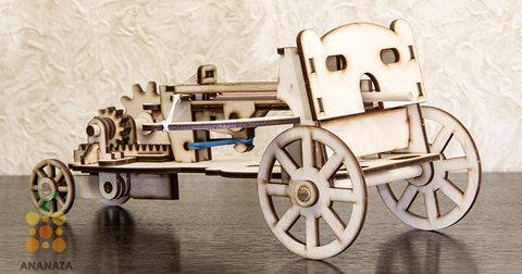 Деревянные конструкторы Eco Wood Art. Модель Стреломет