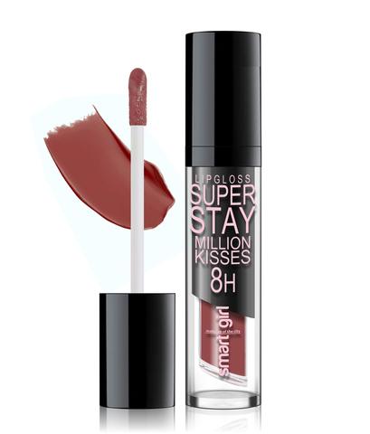 Супер стойкий блеск для губ Smart girl Million kisses (New) тон 220