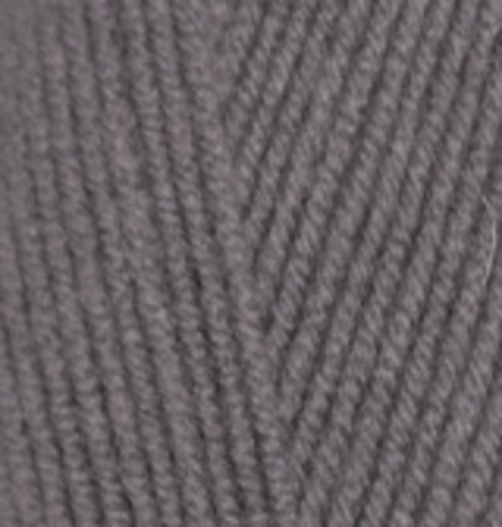 Пряжа Lanagold FINE (Alize) 348 Темно-серый, фото