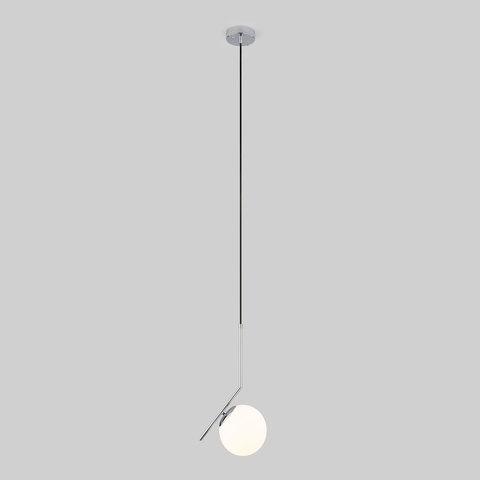 Подвесной светильник с длинным тросом 1,8м 50160/1 хром