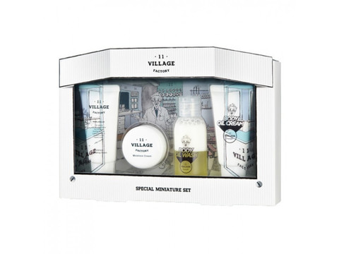 Набор миниатюр village 11 factory special miniature set (cleansing form+cream+body oil wash+body oil cream)