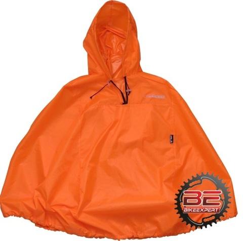 Пончо дождевик Course размер 44-50 оранжевый