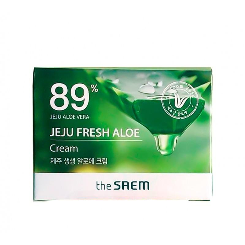 Кремы для лица Крем для лица с алоэ the SAEM  Jeju Fresh Aloe Cream 50 мл Крем_для_лица_с_алоэ_the_SAEM__Jeju_Fresh_Aloe_Cream1_50мл.jpg
