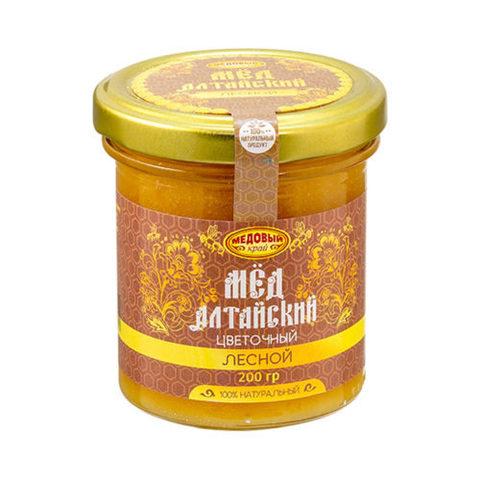 Лесной алтайский мёд 200 г