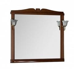 Зеркало Aquanet Николь 100 орех
