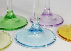 Набор из 6 цветных фужеров для шампанского Gastro Арлекино, 220 мл, фото 6