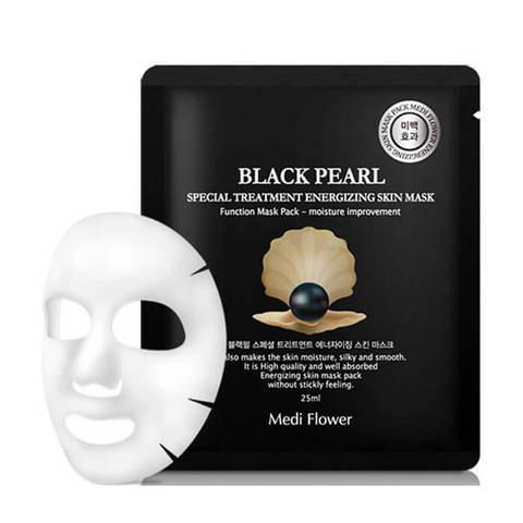 Маска интенсивная с экстрактом черного жемчуга Black Pearl Special Treatment Energizing Mask Pack