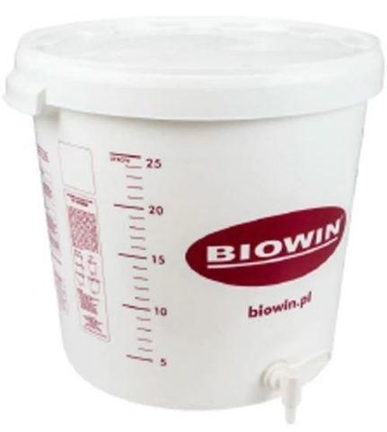 Емкость для брожения пластиковая 30 л. с краном Biowin