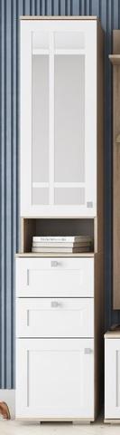Шкаф для прихожей Ривьера (с зеркалом) (ВМ)